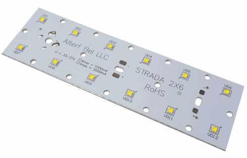 Светодиодный модуль Strada-2X6 (светодиоды SMD 3535)
